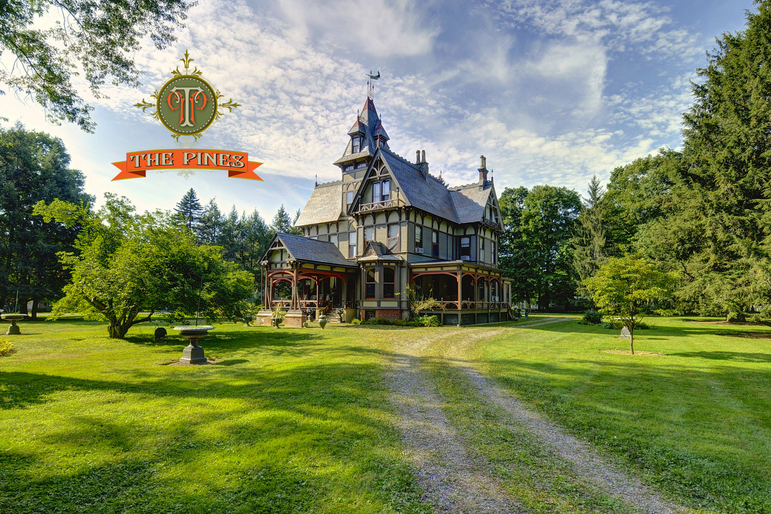 The Pines 1878 Victorian mansion in Dutchess County New York Now available for film locations - Country Home Plans